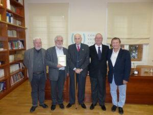El Palau de Forcalló ha sigut hui testimoni d'un acte poc habitual: la presentació de la reedició d'un llibre de poesia, Kavafis. Antologia poètica, que es va publicar fa més de 30 anys.